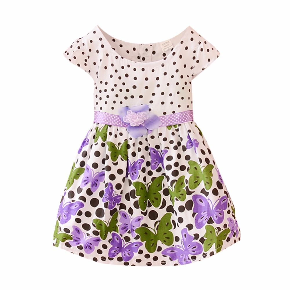Chic Baby Toddler Girl Clothes Flower Princess Wedding