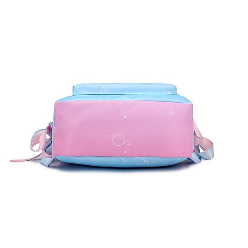 Image 3 - Starry Sky Backpacks For Girls School Children Schoolbags Primary School Book Bag School Bags Women Backpack Sac Ecolier Pink-in School Bags from Luggage & Bags