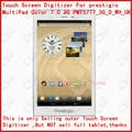 New Touch Screen prestigio MultiPad Color 7.0 3G PMT5777_3G_D_WH_UK  tablet PC Touchscreen Panel Glass