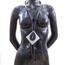 Nuevo collar de moda para mujer, colgante Harajuku Vintage, collares elásticos negros, cadena de regalo hecha a mano, hoja de aluminio suave Punk