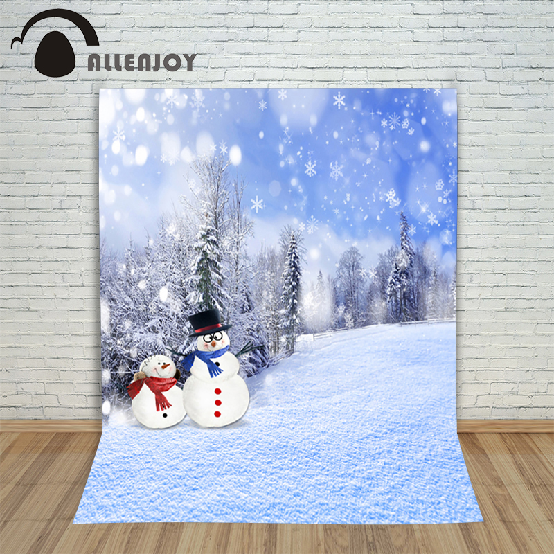 New Christmas backgrounds for christmas photo studio Snowman snow winter kids photocall 10x10ft background photography backdrop 10x10ft thin vinyl photography elk snow pine tree backgrounds christmas backdrop for photo studio cm 6339