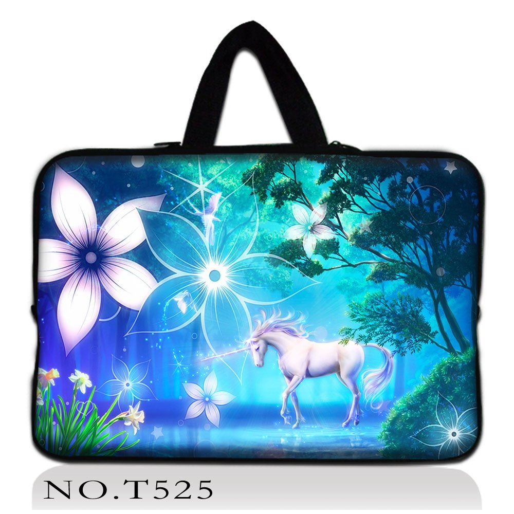 unicorn laptop sleeve computer bag notebook Case For women For MacBook Air /Pro Retina 10 13 13.3 15.4 15.6 17.3 Laptop Bags