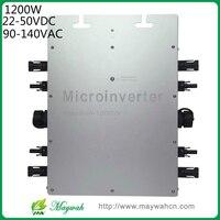 DECEN 22 50VDC Micro Inverter For Solar Panel IP65 Waterproof MaySun 1200W With MPPT On Grid