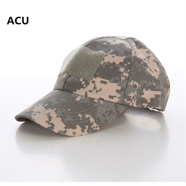 e10534f620f92 Tactical Army Military Camouflage Cap Airsoft Paintball Outdoor Hunting  Baseball Caps Men Multicam Soldier Combat Hat