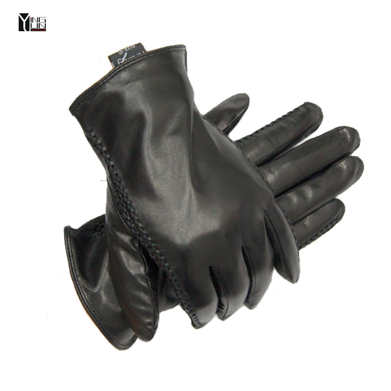 2017 New Winter Free shipping man genuine leather gs