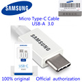 Samsung S8+Plus C9pro C7Pro Original Micro Type-C Cable Quick Charging Data Cable Charge Converter USB 3.0 fast charging adapte
