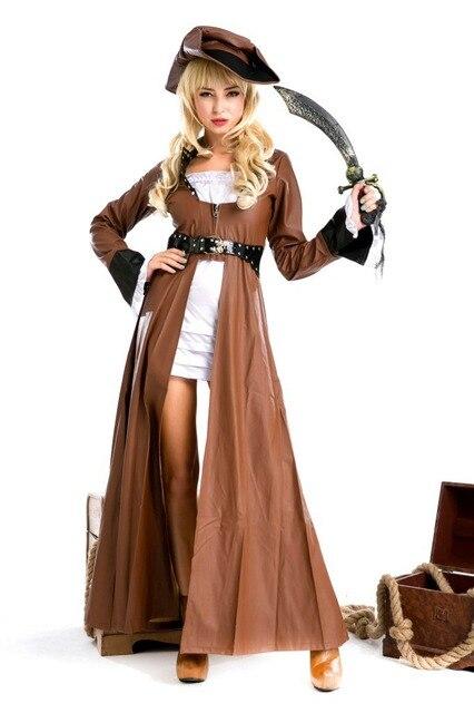pirate costume female gothic victorian dress halloween costumes haloween adult costumes victorian halloween costumes medieval - Halloween Costumes Victorian