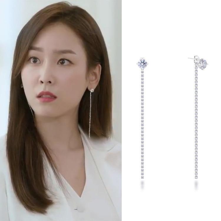 Beauty Drama Korea: KOREAN DRAMA BEAUTY INSIDE EARRINGS -in Drop Earrings From