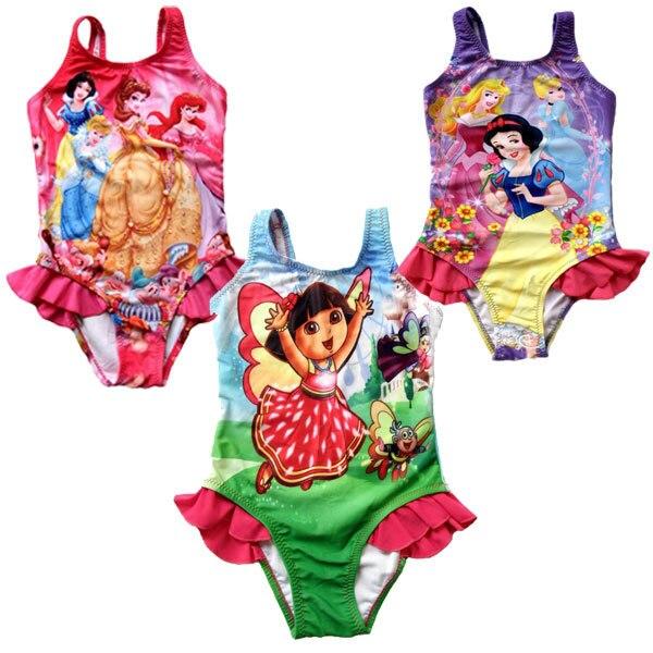 534ac924d1c55 swimsuits for girls Lycara Baby One Piece Cartoon Princess Dora Kids Swim  Clothing Toddler Bathing Suits girl bikini ASS14005 on Aliexpress.com |  Alibaba ...