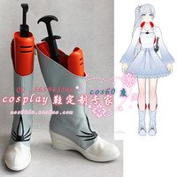 Rwby Weiss Schnee Cosplay Boots Shoes S008