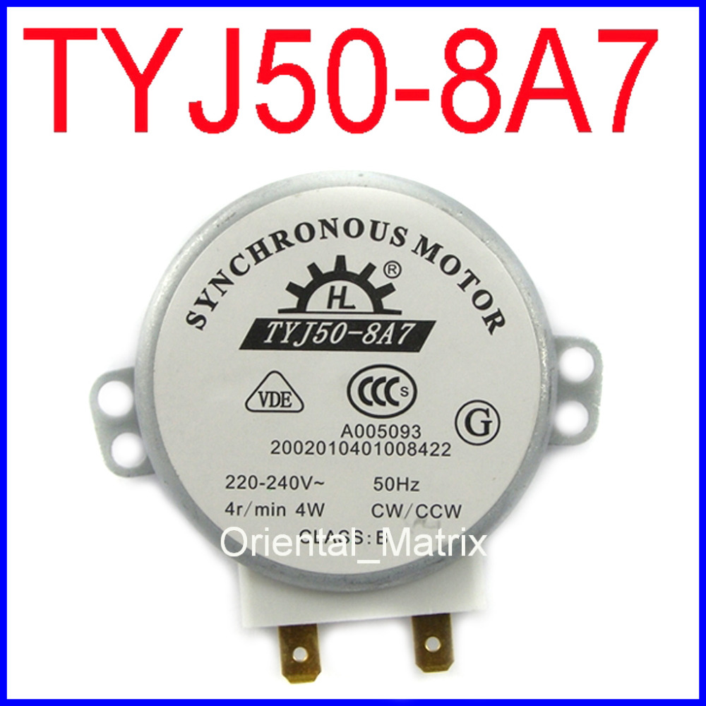 Tyj50 8a7 Microwave Turntable Turn Table Motor Synchronous