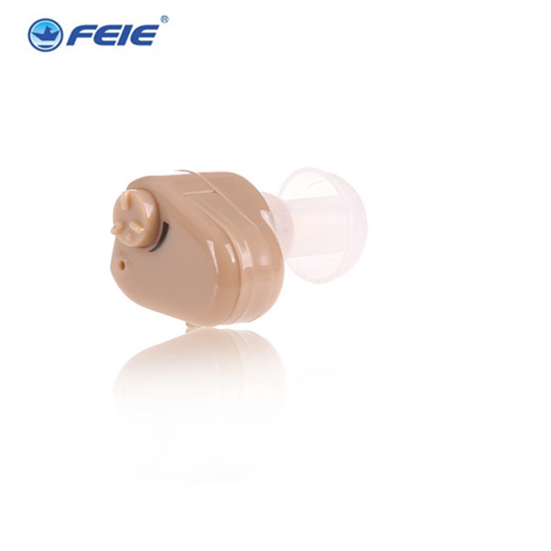 где купить Feie cheap ITC mini in ear hearing aid for deaf person S-900 analog invisible  listening device Free Shipping по лучшей цене