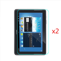 2 Pcs A Pack For Samsung Galaxy N8000 N8010 Screen Protector Tempering Glass Note 10 1