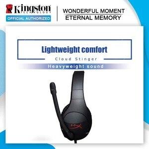 Image 1 - Kingston Hyperx Cloud Stinger Gaming Headset Hoofdtelefoon Met Een Microfoon Microfoon Microfoon Voor Pc PS4 Xbox Mobiele Apparaten