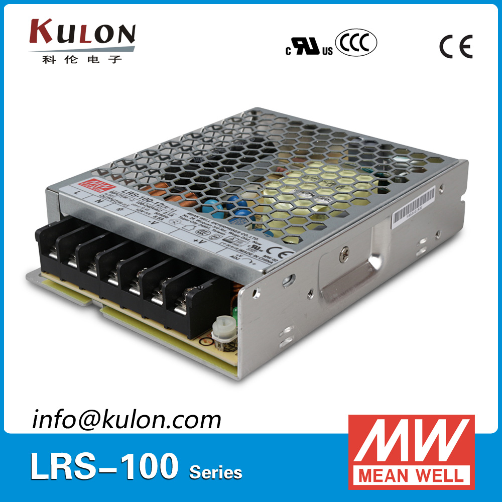 Genuine Mean well LRS-100-5 single output 90W 5V 18A Meanwell Switching Power Supply 12 12 mean well lrs 100 24 24v 4 5a meanwell lrs 100 108w single output switching power supply
