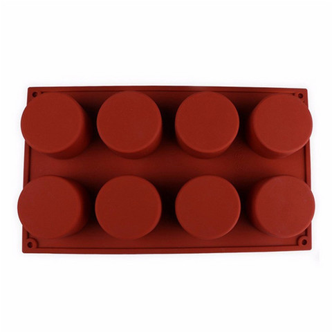 Dropshipping 8-Cavity Oval Shape Soap Mold Silicone Chocolate Mould Tray Homemade Making DIY Lahore