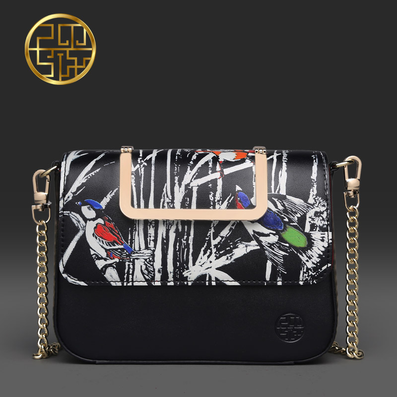 ФОТО Pmsix 2017 new winter long section of black and white wallet female multi-function large capacity clutches P220033