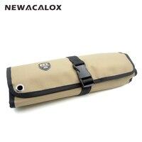 Electric Tools Handbag Tools Bag 10 Pocket Socket 600D Nylon Oxford Tool Roll Pouch