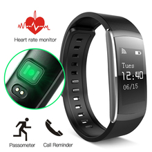 I6PRO Good Wristband Coronary heart Charge Monitor IP67 Good Bracelet Health Tracker For Android IOS