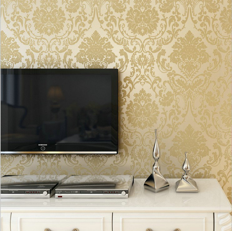 Ikea Leaves Non Woven Fabric Warpaer The Wall Paper For