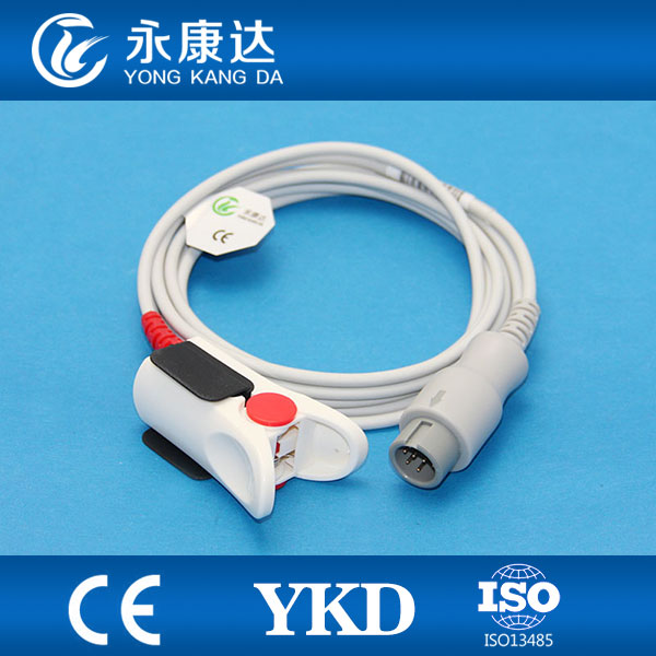 Adult Finger Clip SpO2 Probe Compatible With OXIMAX T5/T6/T8, CE&ISO Certificates