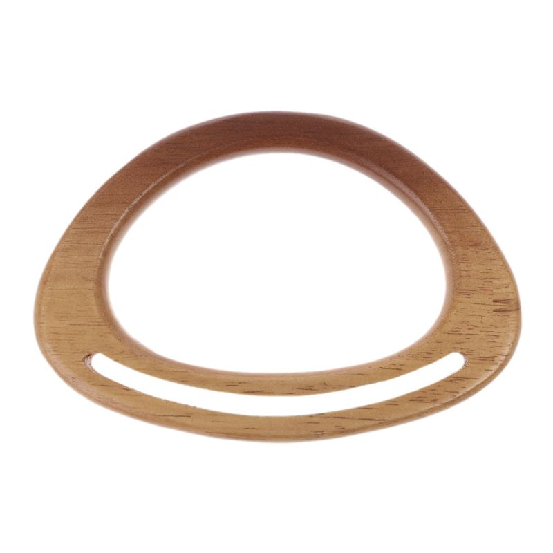 NoEnName_Null High Quality Wooden Bag Handle Replacement For Purse Shoulder Bags Handbag Making