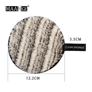 Image 5 - 1/3 個メイク脱毛スポンジフラッター洗浄洗浄綿羽ばたき再利用可能なウェットスポンジフェイスパフソフトナチュラルクリーナーツール新