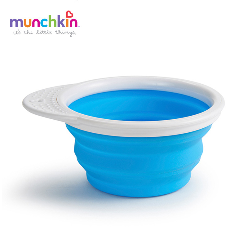 все цены на Munchkin Collapsible Feeding Bowl Baby Infants boy girl feeding Bowl BPA free онлайн