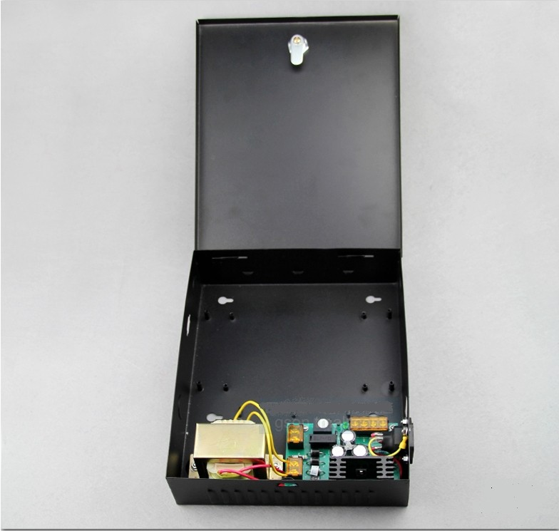 Door access control different controller dedicated power supply, power box form a complete set of power supply wholesale dc12v 5a access control power supply controller