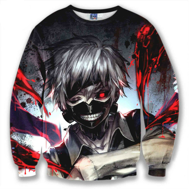 Mens/Womens Classic Cartoon Anime Funny 3D Print Casual Sweatshirt Hoodies