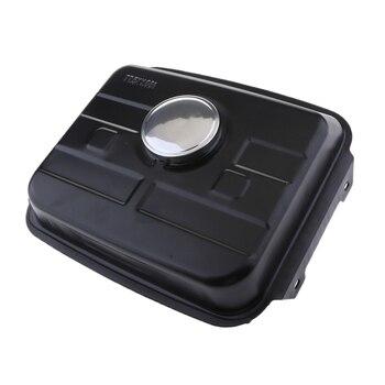 1 Pcs Universal Go Kart Fuel Gas Tank Metal Oil Box For Go Kart Kinroad Ruinmaster Blade Nst Roketa 50 110 70/90KT 11.2x13x4.9″