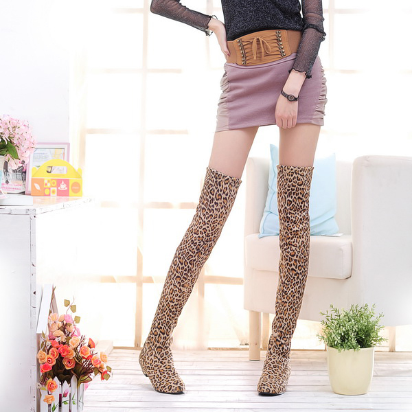 Aliexpress.com : Buy Women's boots thigh high boots height ...