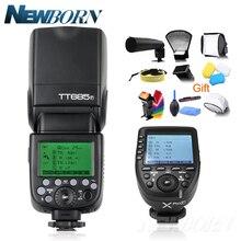 Godox TTL II autofflash TT685F فلاش كاميرا 2.4G اللاسلكية HSS 1/8000s GN60 + 2.4G Wirless X نظام Xpro F عدة لكاميرات فوجي