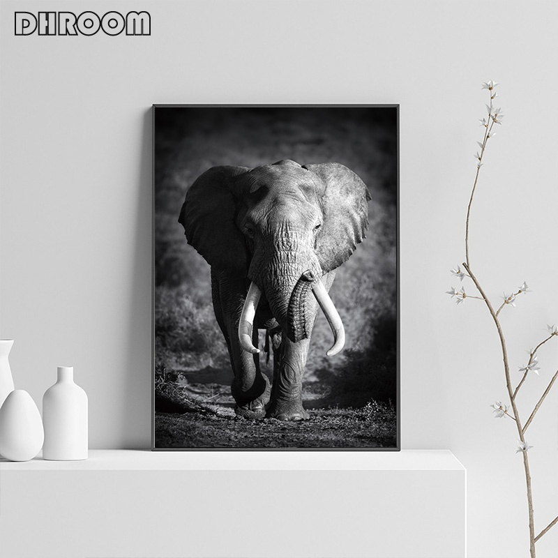 HTB1Mjc5aRWD3KVjSZKPq6yp7FXa2 Nordic Canvas Art Painting Wall Art Animal Canvas Painting Lion Zebra Wall Pictures posters Print for Living Room Home Decor