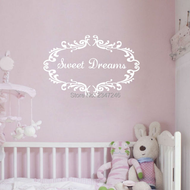 love quotes wall decals for baby room sweet dreams wall stickers art