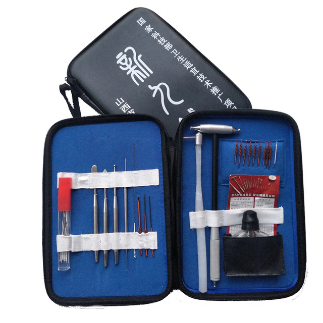 new type acupuncture massage needle package set dermal needle tungsten steel fire needle acupuncture needle