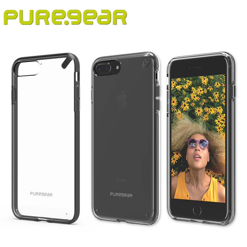 """imágenes para Puregear Original Delgada Concha Transparente Anti-Choque de absorción Clear Case para el iphone 7 Plus (4.7 """", 5.5"""") 61578PG 61590PG"""