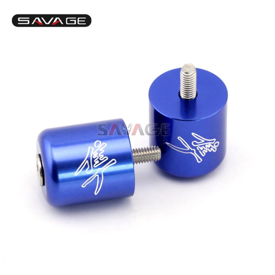 FOR SUZUKI GSX1300R HAYABUSA 1999-2016 Motorcycle CNC Aluminum Bar End Caps <font><b>Handlebar</b></font> Grips Slider Plugs Motor Bike Accessories