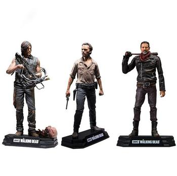 NEW hot 15cm The Walking Dead Season 8 Rick Grimes Daryl Dixon Negan action figure toys collector Christmas gift doll with box цена 2017