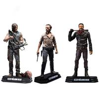 NEW hot 15cm The Walking Dead Season 8 Rick Grimes Daryl Dixon Negan action figure toys collector Christmas gift doll with box