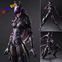 Catwoman Action Figure Playarts Kai Collection Model Anime Toy Movie Bat Man Play Arts Kai Catwoman 270mm Free