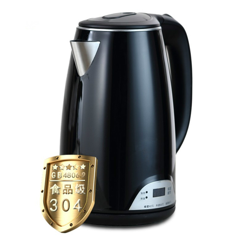 Electric kettle The electric is used to house 304 stainless steel insulators утюг russell hobbs light easy 23590 56 2400вт синий белый
