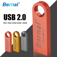2016 NEW metal usb flash drive de 32 gb à prova d' água flash usb pen presente mini stick USB 2.0 memória flash drive 64 gb 16 gb livre grátis