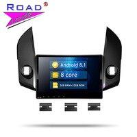 Roadlover Android 8,1 штатную радио для Toyota RAV4 2009 2010 2011 2012 Стерео gps навигации Automagnitol 2 Din NO DVD