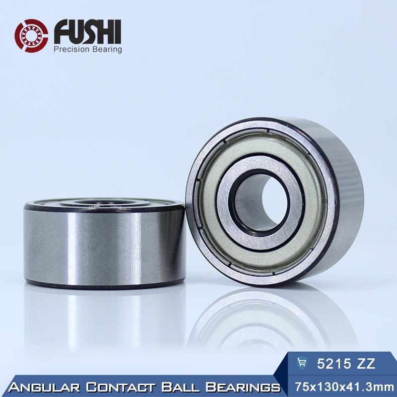 5215 ZZ Bearing 75 x 130 x 41.3 mm ( 1 PC ) Axial Double Row Angular Contact 5215ZZ 3215 ZZ 3056215 Ball Bearings