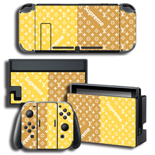 Vinyl Skin Protector Skin Skin Sticker for Nintendo Switch NS Console + Controller + Stand Holder Colour Sticker