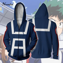 My Hero Academia Hoodie 이즈 쿠 미도리 야 Shouto todorki Boku No Hero Academia 코스프레 의상 스웨터 Bakugou Katsuki Jacket(China)