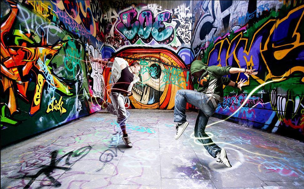 Wallpaper keren 2017 3d for Immagini graffiti hd