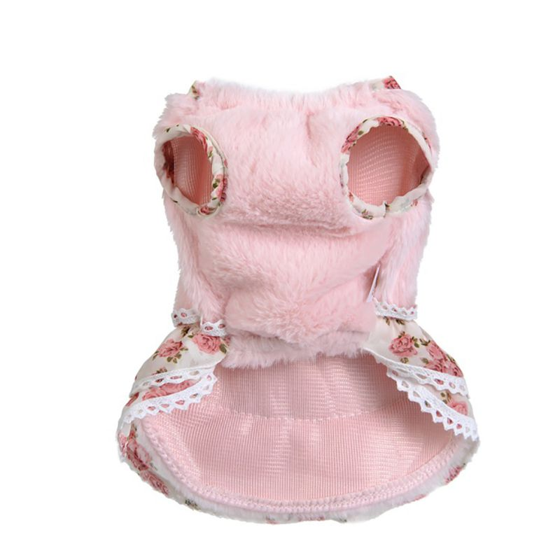 Winter Warm Pet Sweater Dog Clothes Dress Pet Puppy Little Girl With Sweater Charm Apparel Chihuahua Products Dogs