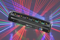 6 индивидуальное управление движущаяся головка RGB лазер для сцены шоу эффект вечерние диско-клуб приспособление события лазер